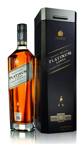 Johnnie Walker Scotch Platinum Label 18 Year